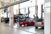 Car-care workshop — Stockfoto