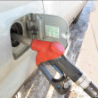 Fuel dispenser — Stock Photo