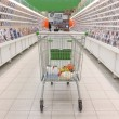 Shopping trolley — Stockfoto