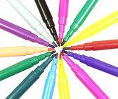 Felt pens — Stock Photo