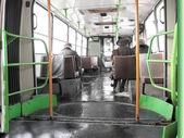 Bus cabin — Stock Photo
