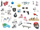 Sport equipment — Stock Photo