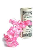 Money as present — Stock Photo