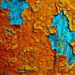 Grunge paint on metal background — Stock Photo #1025739
