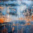 Grunge paint on metal background — ストック写真 #1025974
