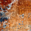 Grunge paint on metal background — Stock Photo #1027244