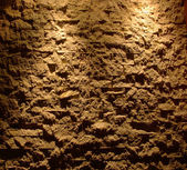 Light on a wall from a stone — Stock Photo