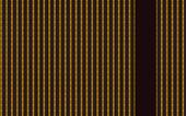 Zwart geweven stof met gele patter — Stockfoto