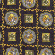 Royalty-Free Stock Photo: Patterned beautiful background of fabric