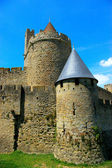 Carcassonne scenery — Stock Photo