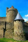 Paisaje de carcassonne — Foto de Stock
