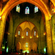 Old medieval part of interior in church — Stock Photo #1100129