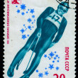 Royalty-Free Stock Photo: USSR 1980: A stamp printed in the USSR