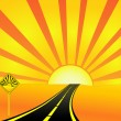 Royalty-Free Stock Imagen vectorial: Road