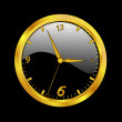 GoldClock — Vector de stock