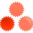 RedBadges — Stock Vector #1053655