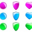 Royalty-Free Stock Vectorafbeeldingen: Web2Badges