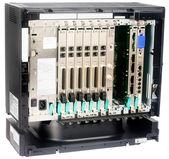 Telephone switch isometrics view — Stock Photo