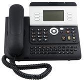 Office telephone set, 6 soft keys — Stock Photo
