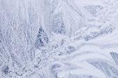 Ice window background — Stock Photo