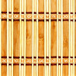 Decorative wooden mat — Stock Photo
