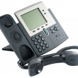 Digital telephone set, off-hook — Stock Photo