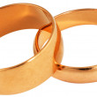 Royalty-Free Stock Photo: Two golden rings