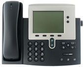 Office IP telephone — 图库照片