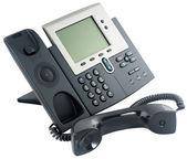 Digital telephone set, off-hook — Stock Photo