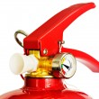 Royalty-Free Stock Photo: Red fire extinguisher