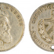 Cuban coin, 1962 year — Stock Photo