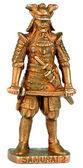 Samurai miniature statuette — Stock Photo