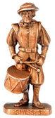 Drummer miniature statuette — Stock Photo