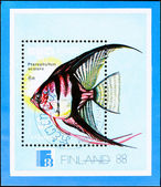 Finnish postage stamp — Stock Photo