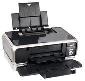 Ink-jet printer isometric view — Stock Photo