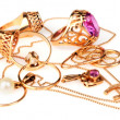 Golden jewelry — Stock Photo #2635870