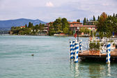 Quay Sirmione, Italy — Stock Photo