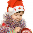 Stock Photo: Little Santa