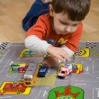 Boy and cars — Stock Photo #1094907