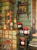 Russian interior — Stock Photo