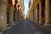 Old street Vicenza — Stock Photo