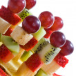 Fruit canape — Stock Photo