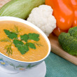 Vegetable soup — Stock Photo #1158611