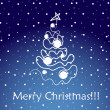 Royalty-Free Stock Imagen vectorial: Merry