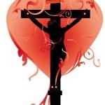 miłość Boga — Wektor stockowy
