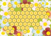 Honeycomb — Stock Vector