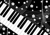 Piano — Stock Vector