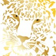 Tigergold — Stock Vector