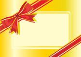 Gold wrap — Stockvektor