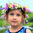 Royalty-Free Stock Photo: Girl in the wreath